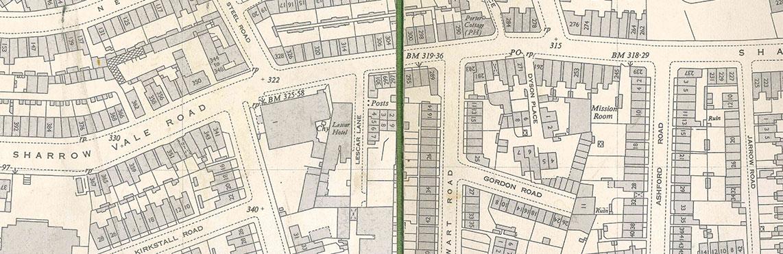 Dyson Place Large Map