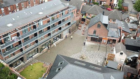 The Rebuild Aerial View